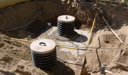 San Diego Home Septic Tank