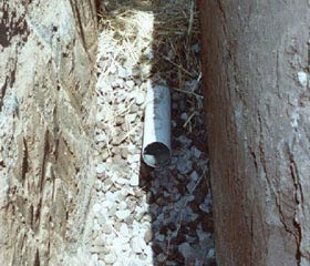 Drainage Pipe Installation