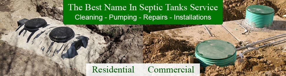 Residential & Commercial Septic Tank