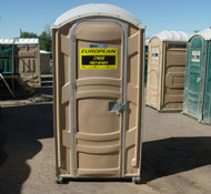 Deluxe Porta Potty Rental